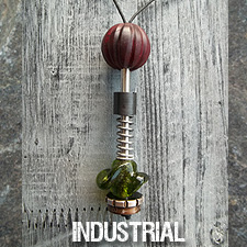 Anni Frohlich Industrial style jewelry